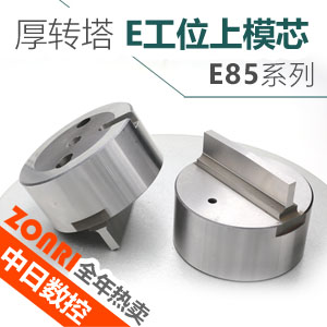 厚转塔E85标准E工位上模芯